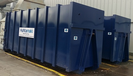 New containers for Huhtamaki Paper Recycling
