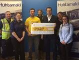 Huhtamaki staff Charity Bog Run