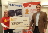 Huhtamaki Platinum Award Donation to Children's Heartbeat Trust